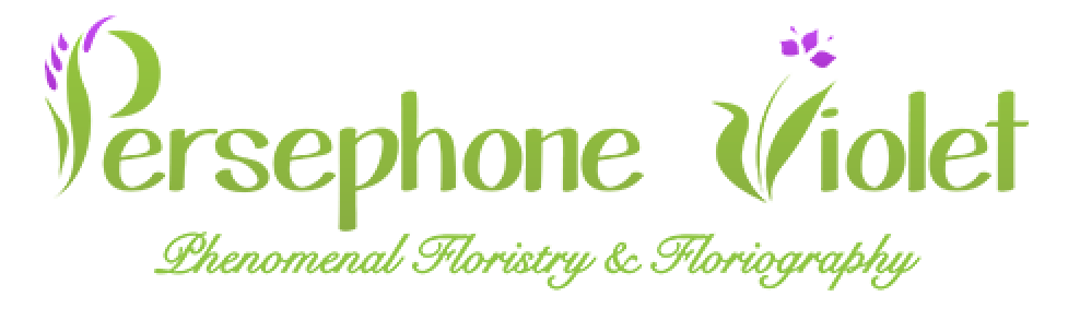 Persephone Violet Logo with Text