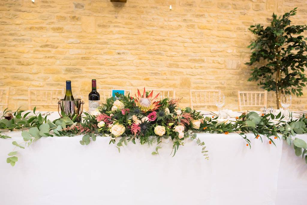 Persephone Voilet Bespoke Wedding Flowers