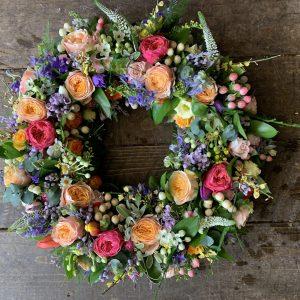 Persephone Violet Wreath
