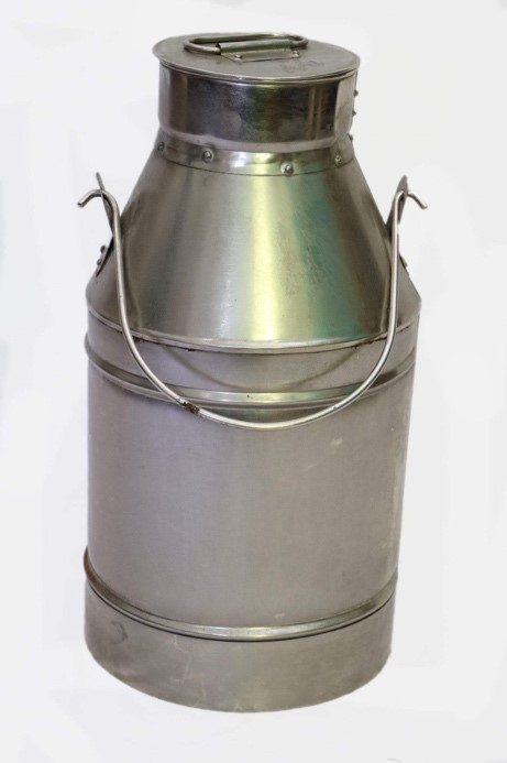 Aluminum Urn with Removable Lid