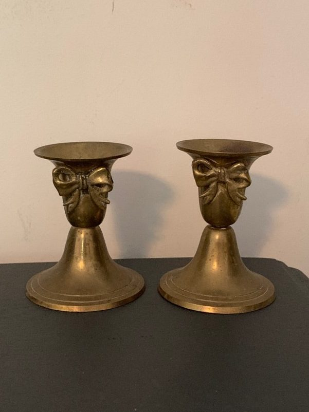 Pair of Brass Candle Sticks