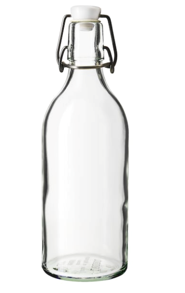 Large Stoppered Bottle