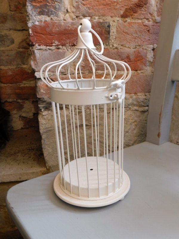 Small Cream Bird Cage