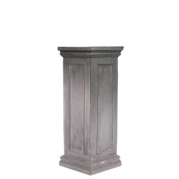 Small Black Stone Plinth – Fits the Black Stone Urn Perfectly
