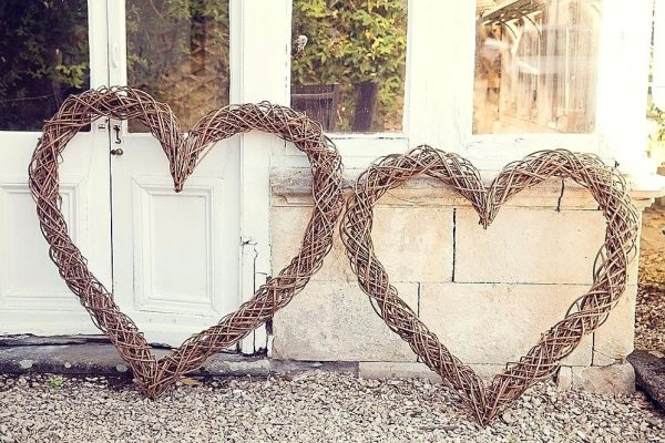 Willow Woven Heart