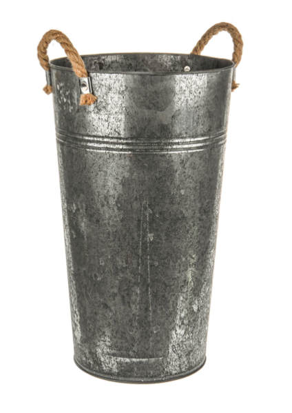 Zinc Antique Bucket Medium